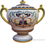 Centerpiece - White Acanthus Handled Urn