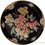 Italian Wall Plate - Black with Fruit 50cm