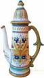 Ceramic Majolica Coffee/Tea Pot D197