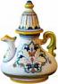 Ceramic Majolica Coffee/Tea Pot D198