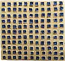 Tile - Gold with Blue Squares/Holes