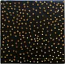Tile - Gold Dots on Black