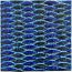 Tile - Blue Rhombus