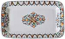 Rectangular Platter - Green/Orange Vario Antico