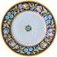 Deruta Italian Dinner Plate - Blue Flower