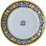 Deruta Italian Charger Plate - Blue Flower