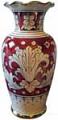 Deruta Italian Ceramic Vase - Rubino e Oro 25cm