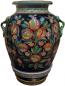 Deruta Floor Vase/Umbrella Stand - Pomegranates 65cm