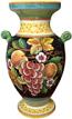 Deruta Furniture/Decorative Vase - Frutta Fonda Nero 35 cm