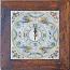 Italian Majolica Clock - Raffaellesco - 29cm
