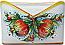 Ceramic Majolica Letter Holder Mail Pomegranate 24cm