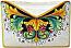Ceramic Majolica Letter Holder Mail Ramina 24cm
