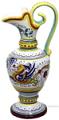 Ceramic Maiolica Anfora Pitcher Raffaellesco 22cm