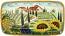 Ceramic Majolica Plate HZ Tuscany Grape Country 4424