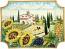 Ceramic Majolica Plate HZ Tuscany Grape Country 4131