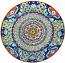 Ceramic Majolica Plate Deruta Ricco G06 Red 739 35cm