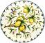 Ceramic Majolica Plate Tuscany Amalfi Lemon NN 52cm