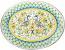 Deruta Italian Ceramic Oval Platter
