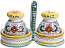 Deruta Italian Ceramic Salt and Pepper Service