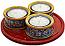 Deruta Italian Ceramic Candle Holder