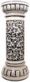Italian Ceramic Floor Column