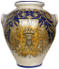 Italian Ceramic Floor Vase - OLIO