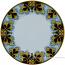 Deruta Italian Dinner Plate - FDL Black/Brown