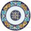 Deruta Italian Salad Plate - Ricco Vario 3