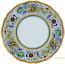 Deruta Italian Dinner Plate - Raffaellesco Scalloped