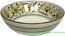 Ceramic Green Peacock Bowl 20cm