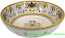 Ceramic Majolica Serving Bowl Peacock