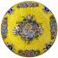Deruta Italian Flowers Plate