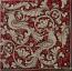Tile Fonda Rossa - Red Doves Corner 4