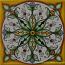 Tile Spear Leaves Yellow Green