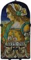 Tile Portrait Female - Carpe Diem (Seize the Day)