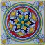 Tile Flower Snowflake