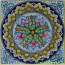 Tile Flower Five Star