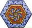 Tile Bologna Hexagonal Geometrico