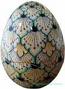 Italian Ceramic Decorative Egg