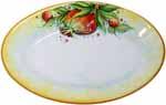 Oval Plate - Pomegranate 1070 24cm
