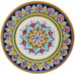 Deruta Italian Ceramic Cheese Plate