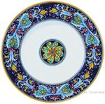 Deruta Italian Salad Plate - Ricco Vario 4