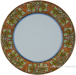 Deruta Italian Charger Plate - Autumn