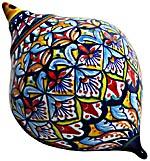Ceramic Majolica Christmas Ornament Deruta Ricco 1 OV11