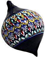 Ceramic Majolica Christmas Ornament Deruta Ricco F2 OV8