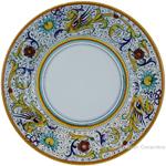 Deruta Italian Dinner Plate - Raffaellesco
