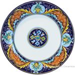Deruta Italian Dinner Plate - Ricco Vario 5