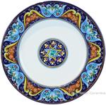 Deruta Italian Dinner Plate - Ricco vario 6