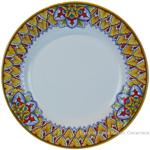Deruta Italian Dinner Plate - Summer