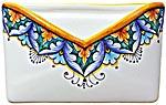 Ceramic Majolica Letter Holder Mail Vario GG1 18cm